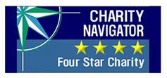 Charity Navigator 4-star banner