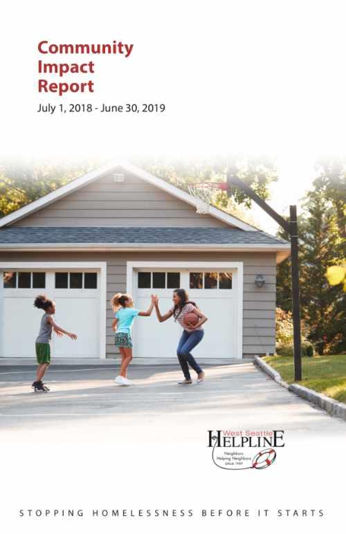 West Seattle Helpline 2019 annual report